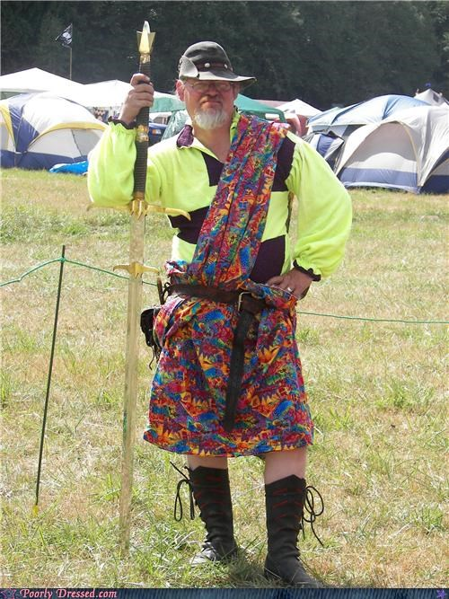 camping festival kilt psychedelic - 5196356864