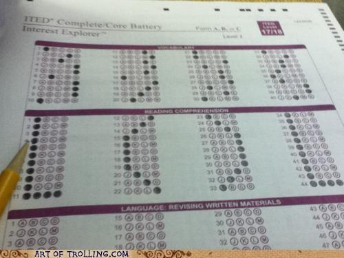 bubbles lol multiple choice test - 5196498176