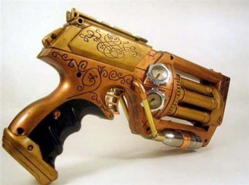 daily diy DIY nerf gun nerf n-strike maverick Steampunk Toyz