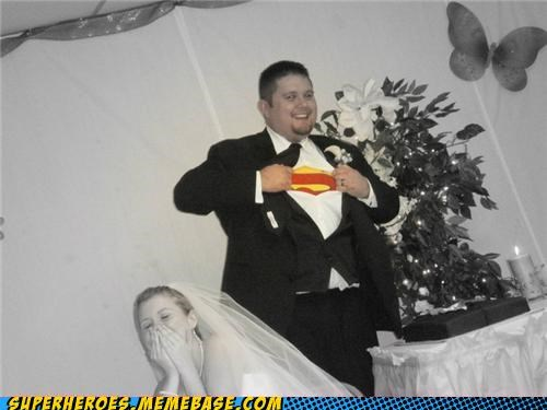 Random Heroics superman T.Shirt wedding - 5196959744