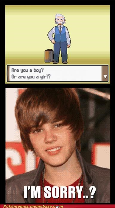 boy or girl cant tell im sorry just bieber Memes