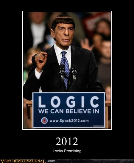 logic president Pure Awesome Spock - 5198166272