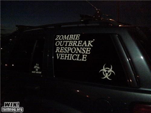 car,emergency,get in the car,modification,zombie,zombie apocalypse