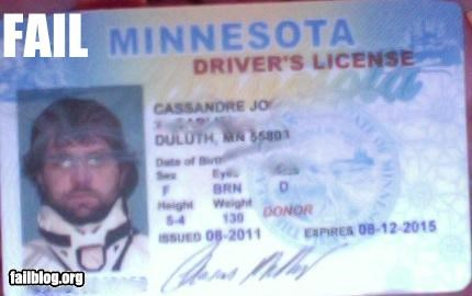 DMV drivers license failboat g rated Minnesota tax dollars at work - 5198494464