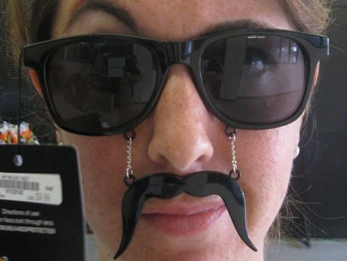 Epic Eyewear,facial hair,Mustache Shades Combo