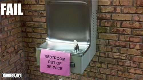 bathroom failboat g rated gross placement signs urine - 5198619136