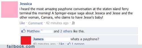 drama,payphone,witty reply