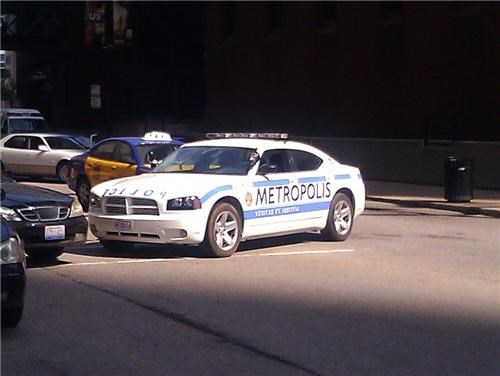 man of steel,metropolis police department,movies,police car,set pics,superman,Zack Snyder