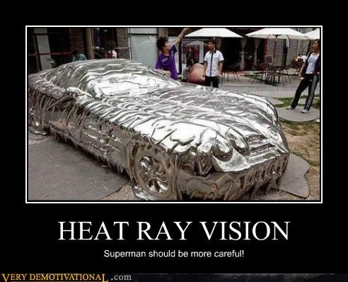 heat ray vision hilarious superman - 5198898688