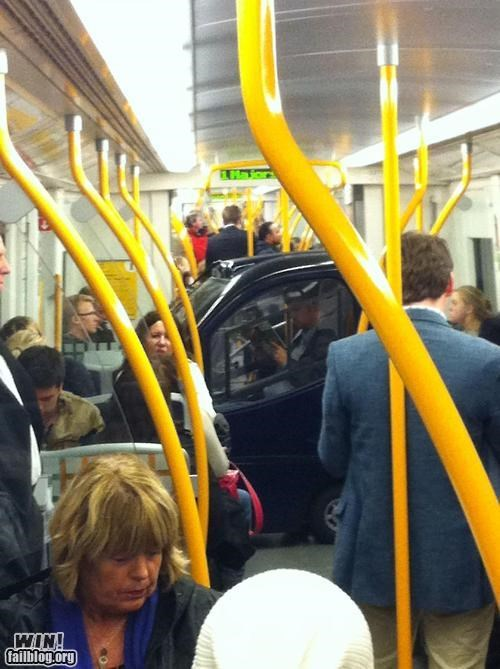 car crowded public transit smart car Subway wait what - 5198970880