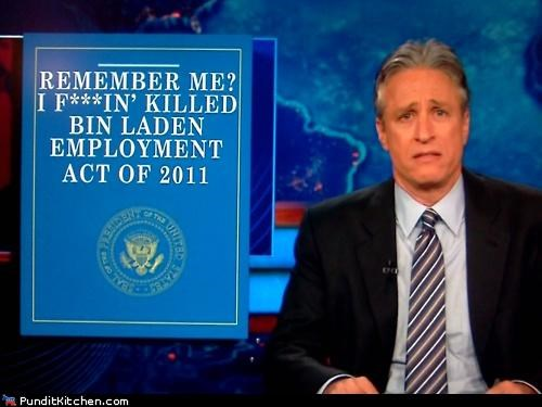 barack obama,employment bill,jobs bill,jon stewart,political pictures