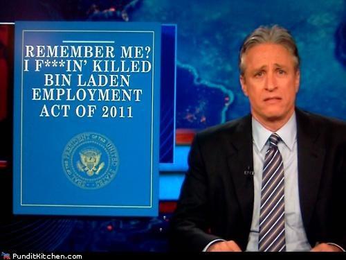 barack obama employment bill jobs bill jon stewart political pictures - 5198972672