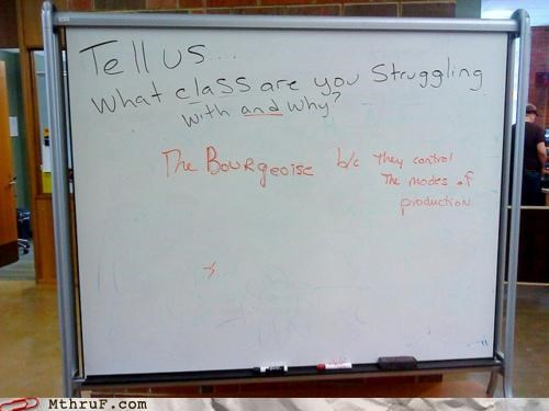class,class warfare,communist,proletariat,school,socialist,whiteboard