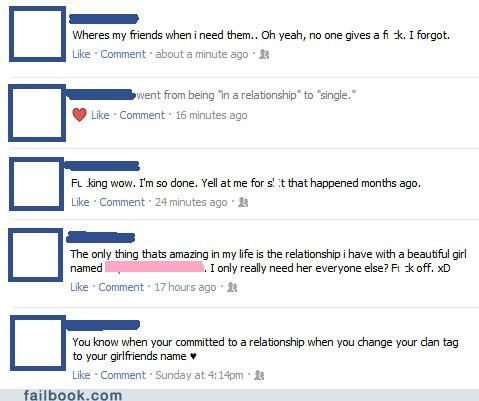 emo,relationship status,what did you expect