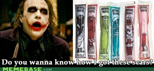 batman delicious joker Memes otter pops scars - 5199202304