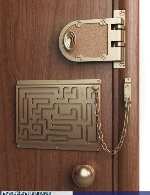 door drunk How Does It Work lock maze puzzle - 5199689984