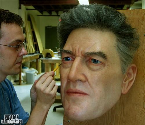art brush bust life-like realism realistic sculpture whoa - 5199728640