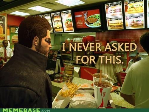 asked for this deus ex McDonald's Memes order - 5199870976