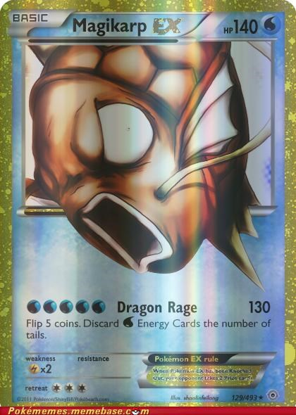 basic best of week dragon rage ex Like a Boss magikarp toys-games - 5199879936