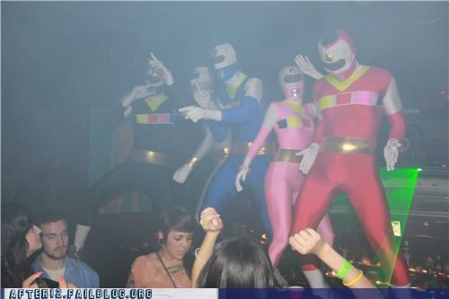 awesome,club,costume party,Hall of Fame,power rangers,special guest