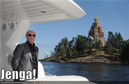 jenga political pictures Vladimir Putin vladurday - 5199902976