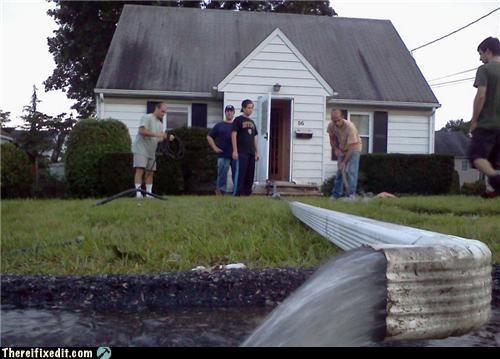 flood gutters home improvement - 5200120320