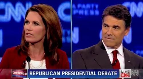 2012 Presidential Race GOP Debate HPV Human papillomavirus Michele Bachmann Reality Check Rick Perry - 5200218880