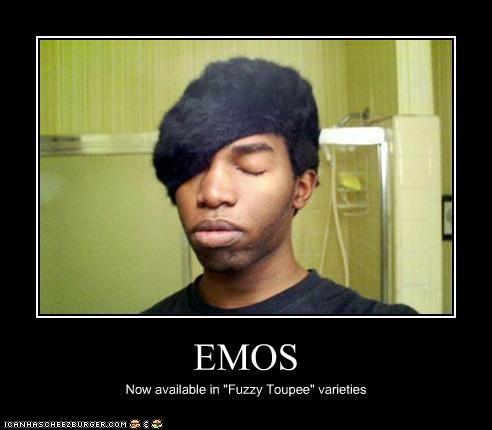 emo fuzzy toupee weird kid - 5200261376