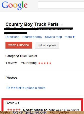 google,truck parts,weed