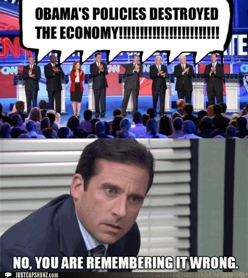 barack obama,economy,Michael Scott,multipanel,politicians,politics,Pundit Kitchen,Republicans,steve carell,the office