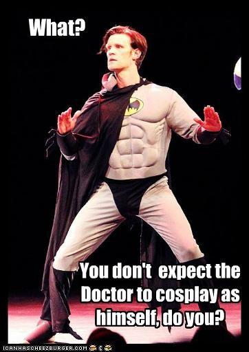 actor batman celeb funny Matt Smith - 5200392192