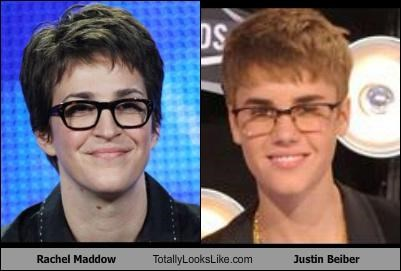 glasses journalist pop singers Rachel Maddow short hair - 5201030656