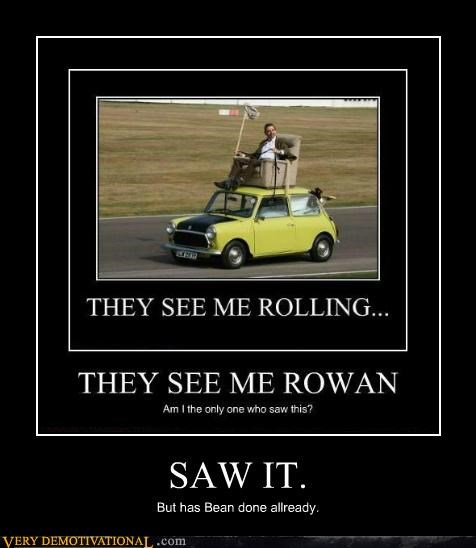car,mr-bean,Pure Awesome