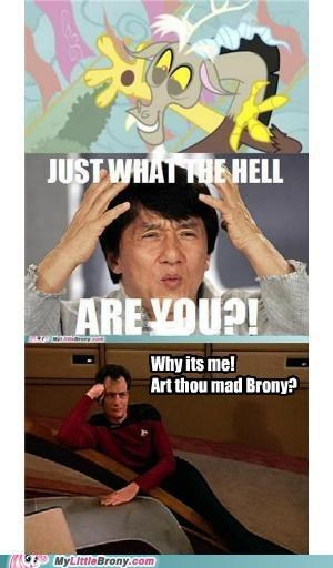 comic comics discord Jackie Chan meme Q season 2 Star Trek - 5201234432