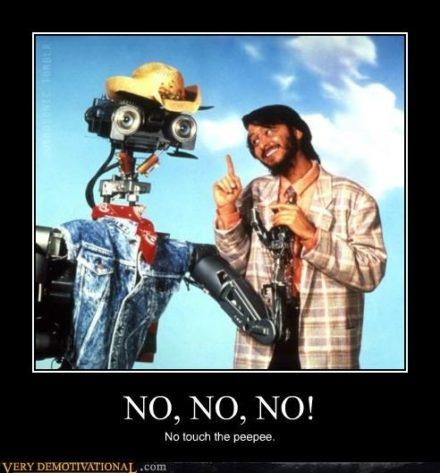 hilarious,johnny 5,no no tubes,short circuit,wtf