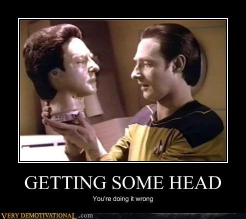 data head hilarious Star Trek - 5201621760
