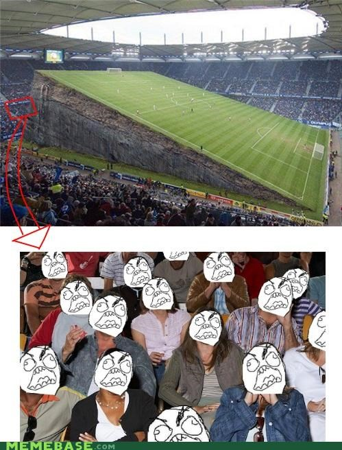 football Rage Comics soccer stadium