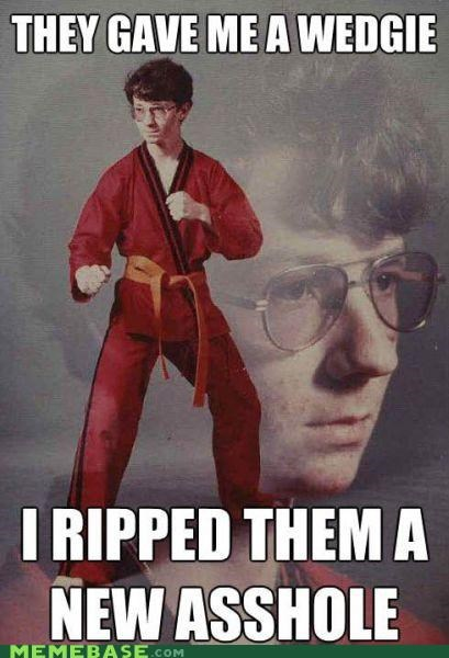 butts karate Karate Kid wedge - 5201927168