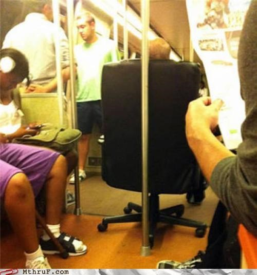 chair,commute,office chair,Subway