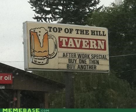 IRL not really special tavern