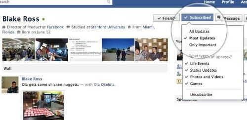 apps facebook facebook features public posts stalker button subscription Tech - 5202627328