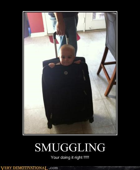 baby hilarious smuggling suit case - 5202633472