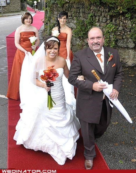 bride,england,father of the bride,funny wedding photos,red carpet