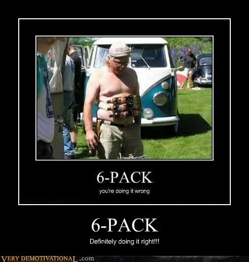 6 pack,fat guy,hilarious,wtf