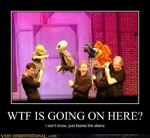 Aliens,muppets,Pure Awesome,wtf