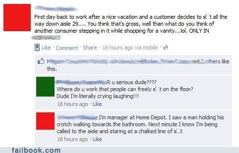 gross,on the job,poop,really-home-depot