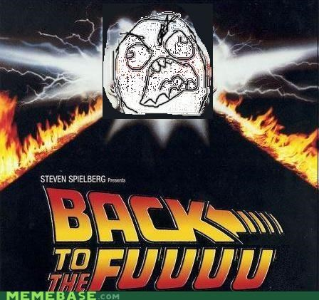 back to the future movies Rage Comics time travel