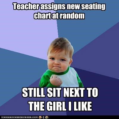 Chart proximity random school seating success kid - 5203474944