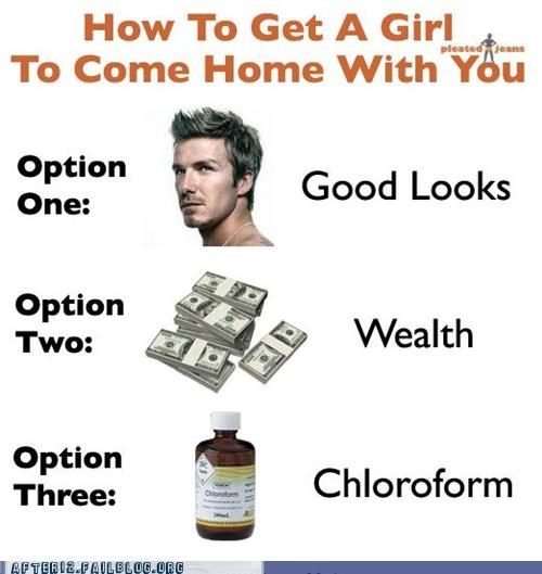 chloroform,good looking,Hall of Fame,money,strategies,top,whatever works