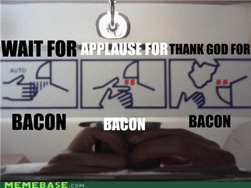bacon,dryer,hands,machine,Memes,prayer